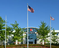 Cleveland Browns Headquarters Front Office Berea Ohio Stock Photography