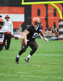 Cleveland Browns Rookie WR Ed Eagan 2016 Photographie stock libre de droits