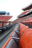 Cleveland Browns-Stadionssitze Stockfotografie