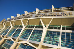 Cleveland Browns stadium. In downtown of Cleveland, Ohio royalty free stock photo