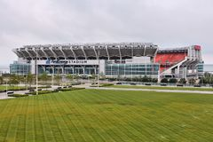 Cleveland Browns Stadium Obrazy Stock