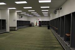 Cleveland Browns Visitors omklädningsrum med låsbara skåp Arkivfoto
