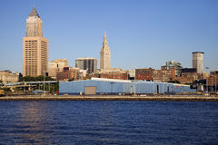 Cleveland buildings Royalty Free Stock Image