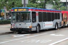 Cleveland buss Royaltyfri Bild