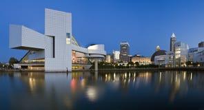 Cleveland céntrica Imagenes de archivo