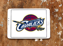 Cleveland Cavaliers american basketball team logo Royalty Free Stock Photo