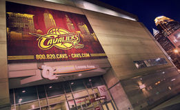 Cleveland Cavaliers banner Royalty Free Stock Image