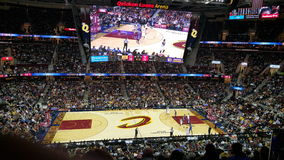 Cleveland Cavaliers, Quicken presta l'arena Immagine Stock