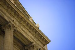 Cleveland courthouse. Architectural details of Cuyahoga County Courthouse, Cleveland, Ohio, U.S.A stock photos