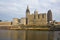 Cleveland da baixa Imagem de Stock