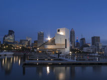 Cleveland del centro Immagine Stock
