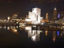 Cleveland del centro Fotografia Stock Libera da Diritti