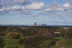 Cleveland - distant skyline Royalty Free Stock Photo