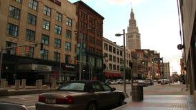 Cleveland dzień Timelapse 1 zbiory