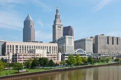 Cleveland dzielnica biznesu Obraz Royalty Free