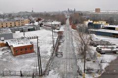 Cleveland en el invierno ningún 2 Fotos de archivo