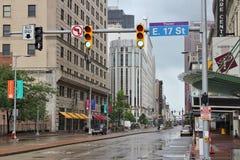 Cleveland Euclid Avenue Fotos de Stock
