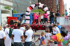 Cleveland Gay Pride Parade Royalty Free Stock Images