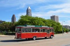 Cleveland im Stadtzentrum gelegen Stockfoto