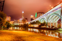 Cleveland. Image of Cleveland downtown Stock Image