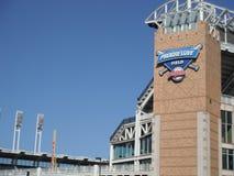 Cleveland Indians au champ progressif Images stock