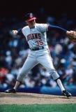 Phil Niekro. Cleveland Indians legend Phil Niekro. Image taken from color slide Royalty Free Stock Photos