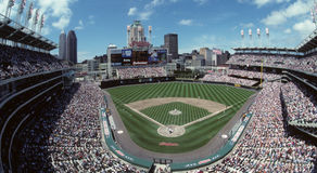 Cleveland Indians Jacobs Field  Stock Image