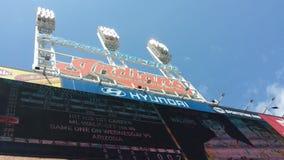 Cleveland Indians Stadoum Stock Images