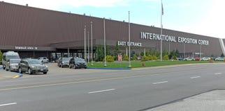 Cleveland International Exposition Center in Cleveland, Ohio, de V.S. stock fotografie