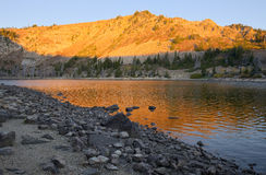 Cleveland Lake Royalty-vrije Stock Fotografie