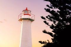 Cleveland Lighthouse Stock Foto's