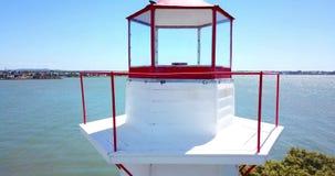 Cleveland Lighthouse a Cleveland, Brisbane archivi video