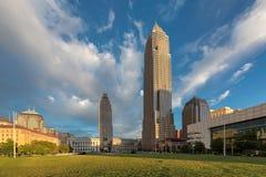 cleveland linia horyzontu Cleveland, OH obrazy royalty free