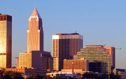 Cleveland morning Stock Photos