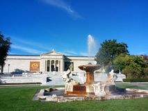 The Cleveland Museum of Art. CMA is an art museum located in the Wade Park District, in the University Circle neighborhood on Cleveland`s east side stock images