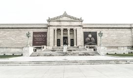 Cleveland muzeum sztuki zdjęcie stock