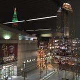 Cleveland nocą zdjęcie royalty free
