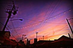 Cleveland nocy rynek fotografia stock