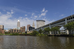Cleveland, OH Royalty Free Stock Photos