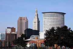 Cleveland Ohio Lizenzfreies Stockbild