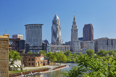 Cleveland, Ohio Immagini Stock