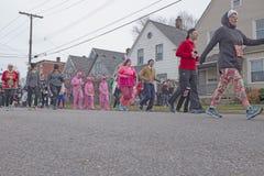 Cleveland Ohio `A Christmas Story` Fun Run/Walk stock photography