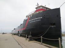 Cleveland Ohio docked Ship Royalty Free Stock Photo