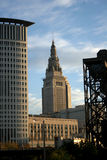 Cleveland Ohio Downtown Skyline Stock Images