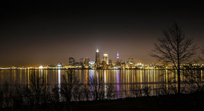 Cleveland Ohio Skyline Stock Photos