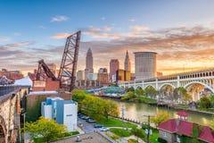 Cleveland, Ohio, los E.E.U.U. Foto de archivo libre de regalías