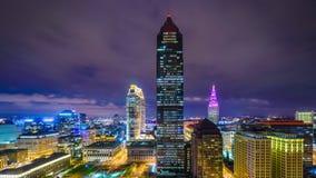 Cleveland, Ohio, paesaggio urbano di U.S.A. video d archivio