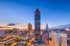 Cleveland, Ohio, U.S.A. immagini stock