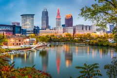 Cleveland Ohio, USA Royaltyfria Bilder