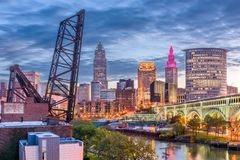 Cleveland, Ohio, USA Royalty Free Stock Images